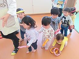 さくらんぼぐみ(1歳児)